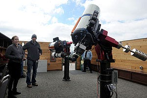 UNCA Observatory Opens For Public