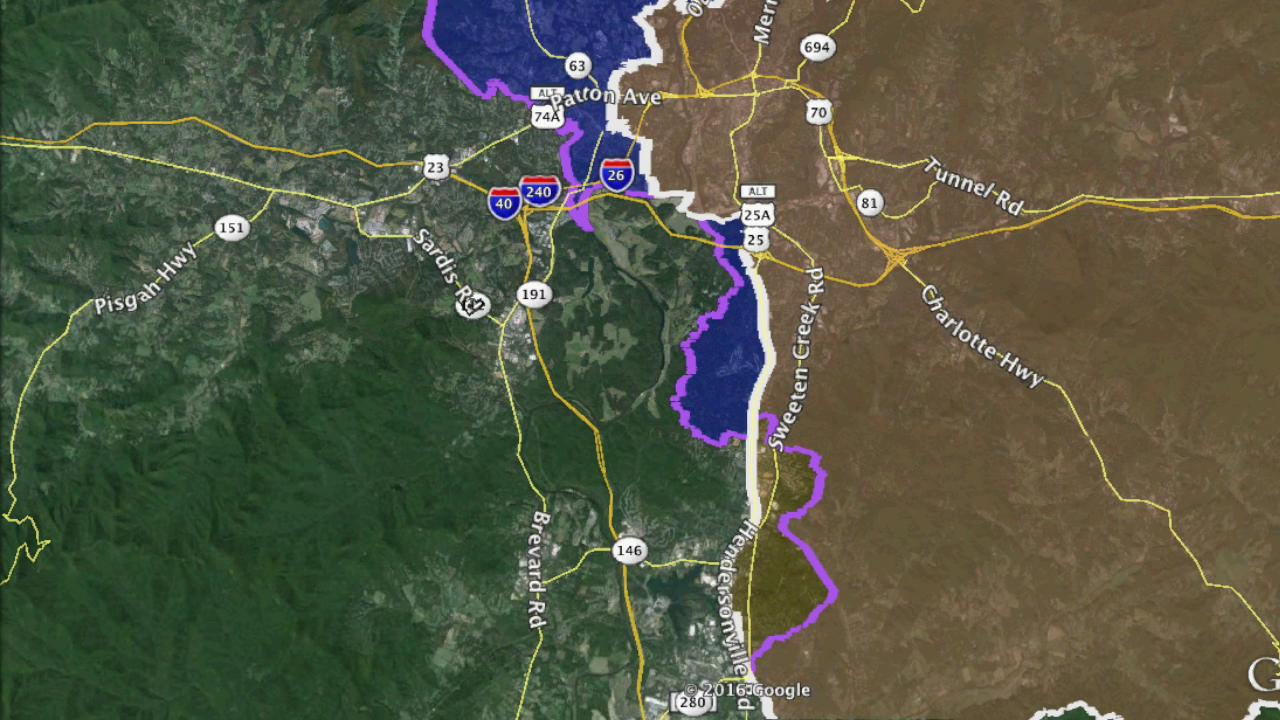 WNC US House districts little changed in proposed map