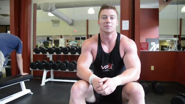 With some success already, Travis Frizsell of Black Mountain is training to be a professional bodybuilder.