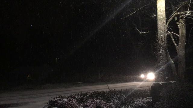 Snowfall in Arden