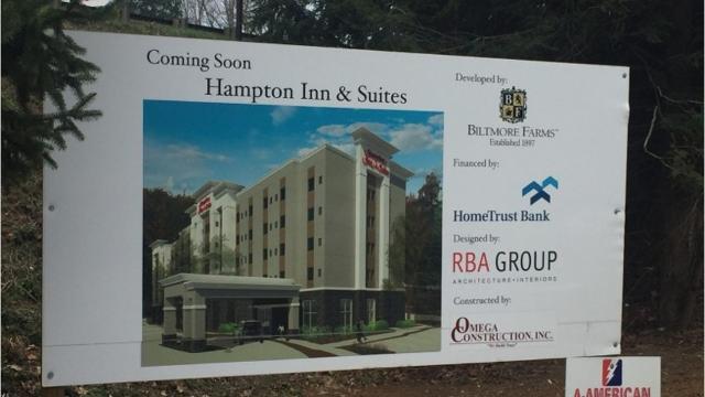 Biltmore Village area hotels springing up