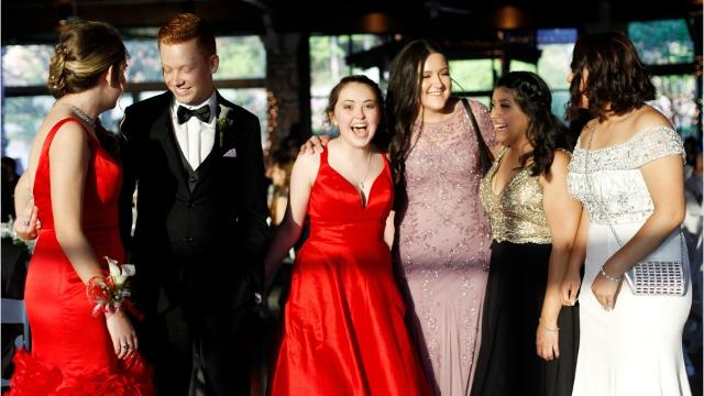 Scenes from Erwin High prom 2017
