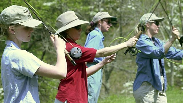 A preview of Tonya Maxwell's story about WNC fly-fishing and trout.