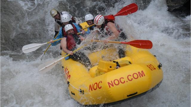 A preview of Karen Chavez's story on WNC rivers and white water rafting.
