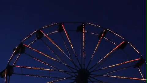 MARSHALL — Watch as the Calhoun County Fair midway transitions from day to night.