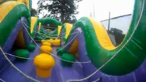 MARSHALL — At the Oaklawn HealthYou Family Health and Fitness Fair Saturday, obstacle courses gave people a chance to be active.