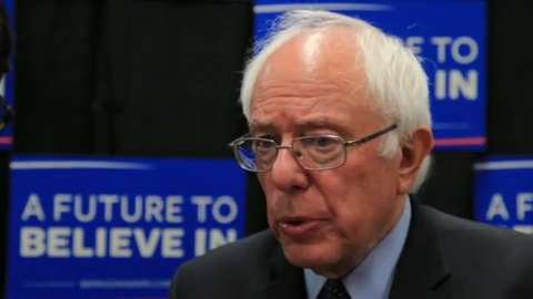 Video: John R. Roby interviews Sen. Sanders