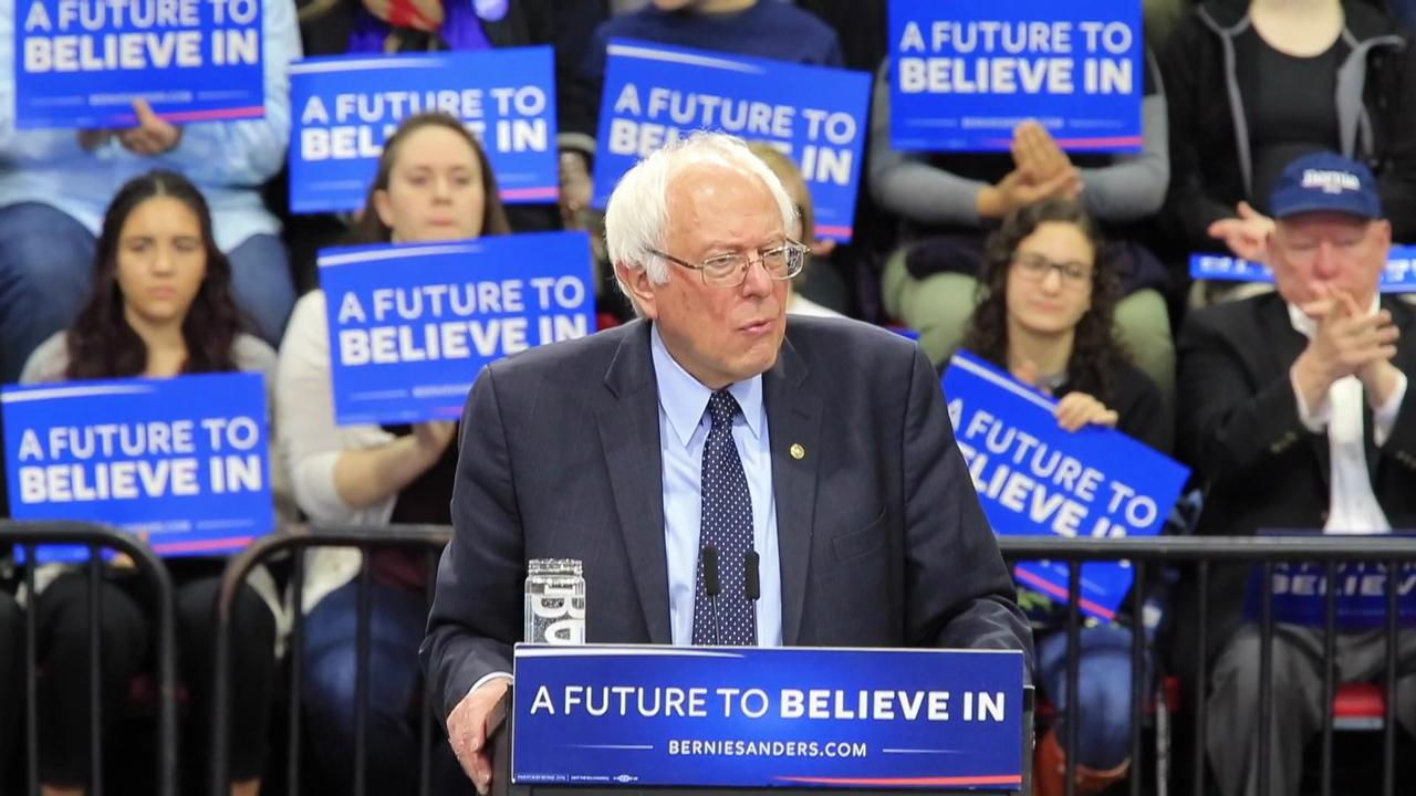 Video: Sen. Bernie Sanders in Binghamton