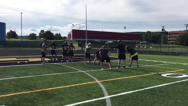 Video: Young Corning team gets set for season