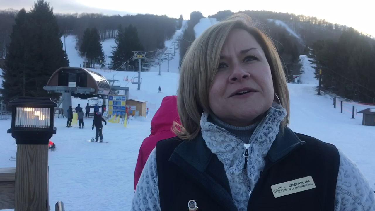 Jessica Sloma, Greek Peak's vice president of sales of marketing, discusses Greek Peak's past season and the need to become a four-season resort.
