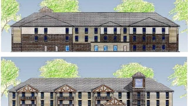 The Town of Ithaca Planning Board approved a site for a Sleep Inn Hotel.