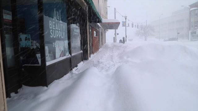 Video: Storm blankets Southern Tier in snow