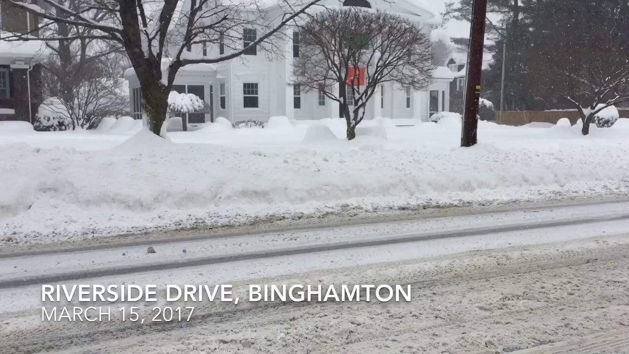 VIDEO: The aftermath of the storm