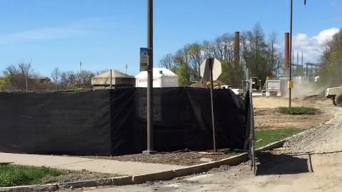 Maplewood Park site preparations