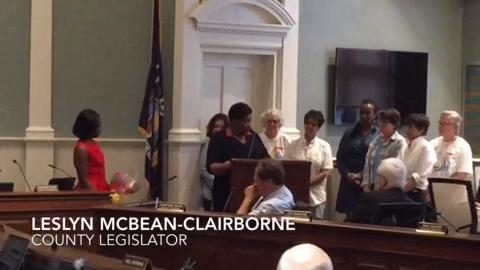 Video: County legislator is LGBT ally of the year