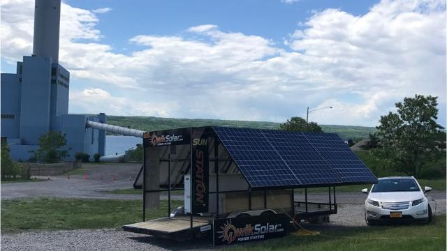 Cayuga Operating Company has plans to create a $25 million solar farm on its 434-acre site in Lansing.