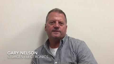 Gary Nelson is finishing his first year as the owner of Sturges Electronics.