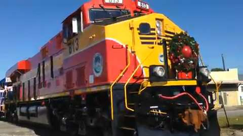 Video Toys For Tots Toy Train