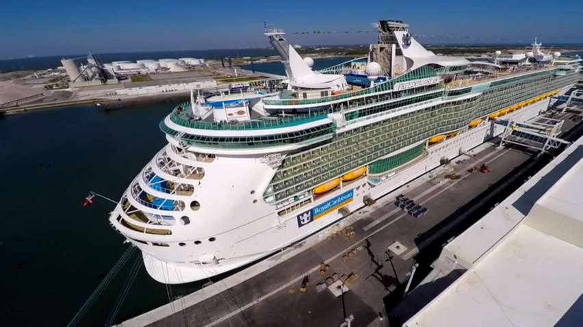 One Of Largest Cruise Ships Makes Port Canaveral Home - Cape canaveral cruise ship schedule