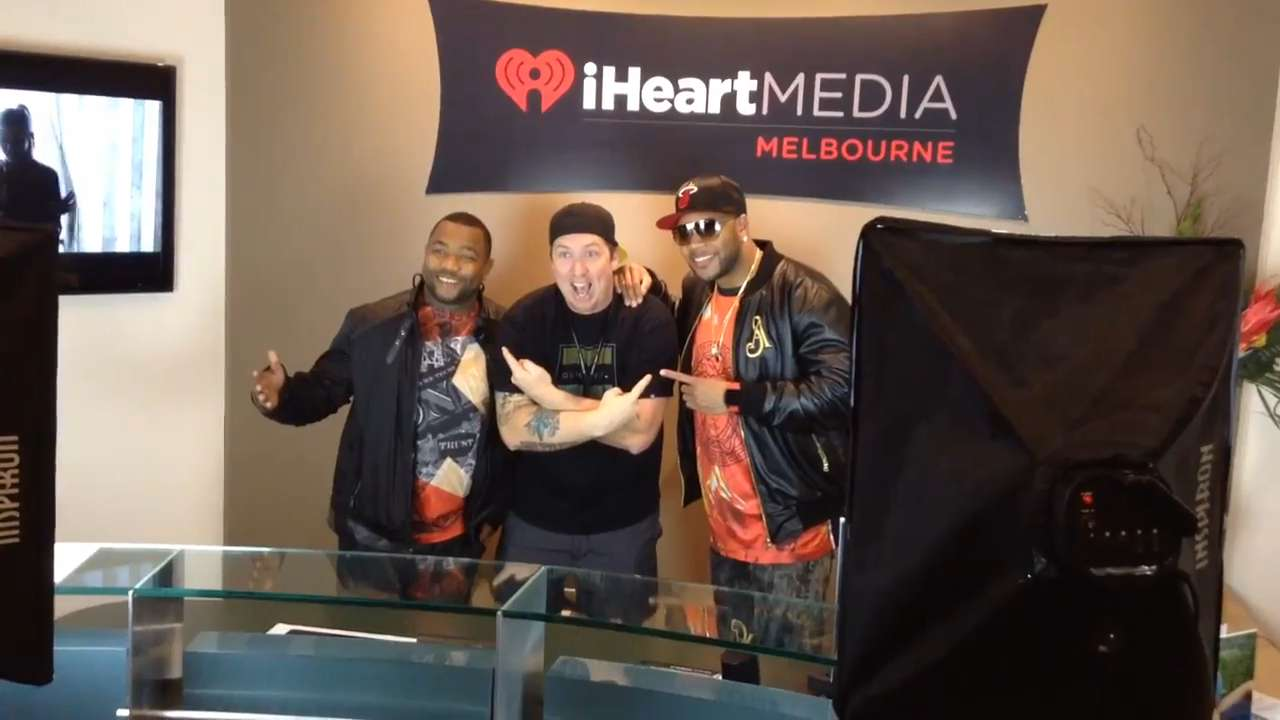 Rapper Flo Rida Stops By Kiss 951 To Promote New Song