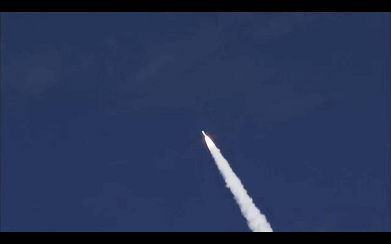 Video: Delta IV rocket launch with USAF satellite