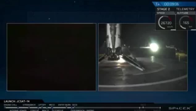 SpaceX lands Falcon 9 booster — again