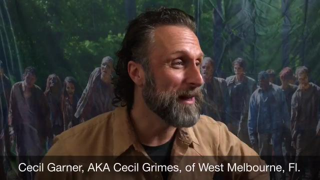 """Cecil Grimes of Brevard is now making a living in the creative world of cosplay for looking like a certain cast member of """"The Walking Dead""""  Video by Tim Shortt. Posted 7/14/16."""