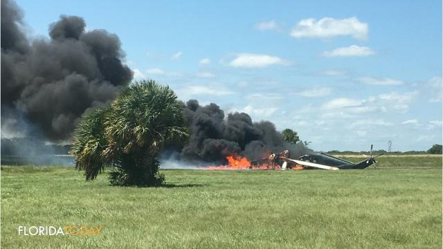 Video: Three dead in helicopter crash at Palm Bay Compound