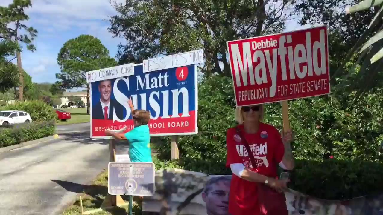 Voters in Brevard talk about Election Day