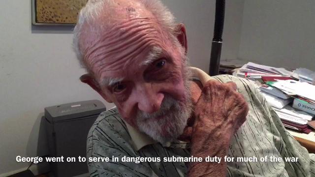 A 92-year-old World War II veteran talks about the Dec.7 attack on Pearl Harbor. Video by Tim Shortt.
