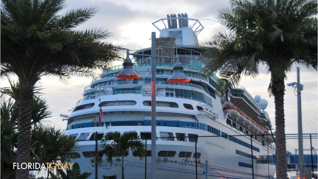 Majesty Sails After Daylong Delay At Port Canaveral - Cruise ship delayed