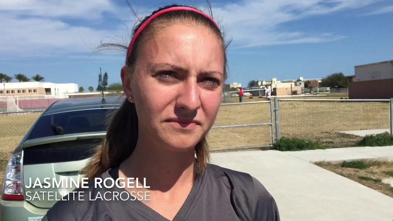 Rockledge, Satellite lacrosse players on headgear preference