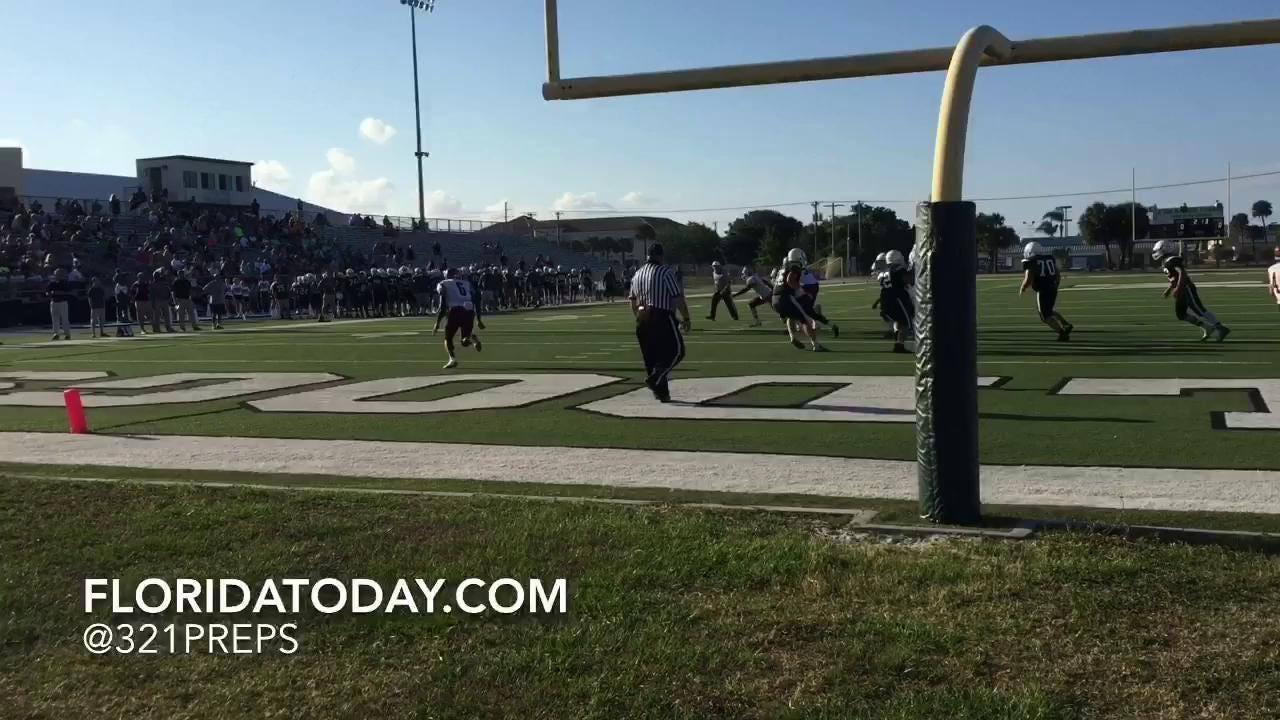 Elijah Burnett touchdown run