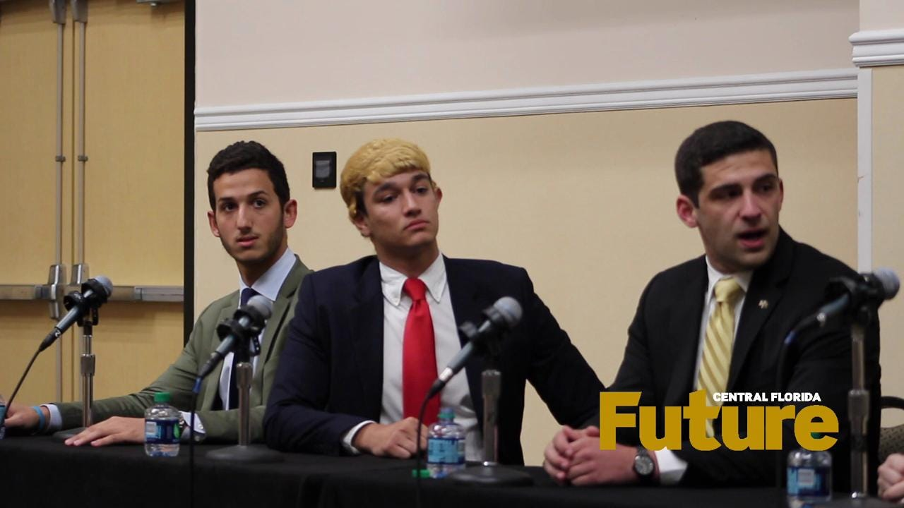 The 2016 SGA presidential debate was held in the Cape Florida ballroom of the Student Union from 6 to 8 p.m. on Wednesday, March 23.