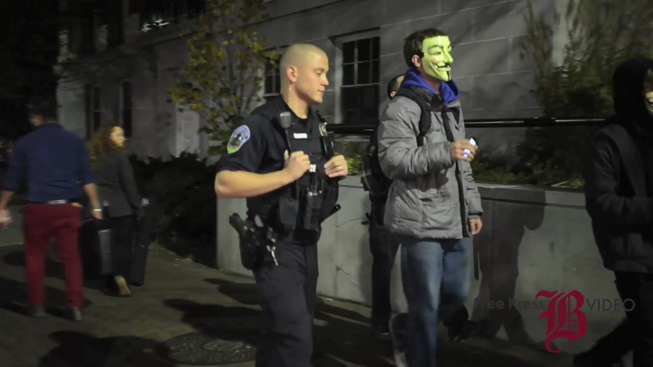 Two 'detained' in Burlington after refusing to take off masks