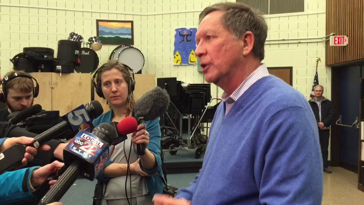 John Kasich discusses Supreme Court vacancy