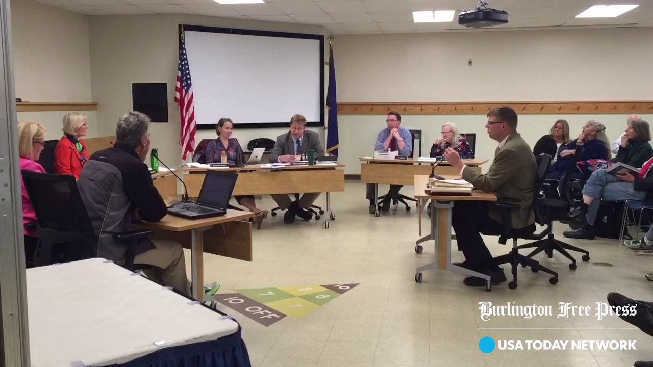 Accusation of special interests at South Burlington City Council meeting