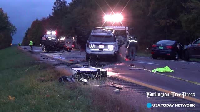 Five killed in crashes on I89 in Williston