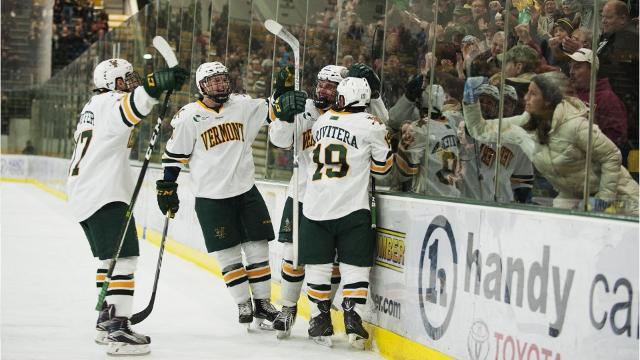 Hockey East playoffs begin for Vermont