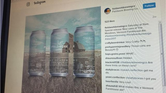 'Vermont' beer pops up out of state