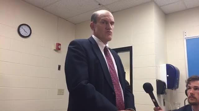 Superintendent Young on S. Burlngton High School lockdown 2