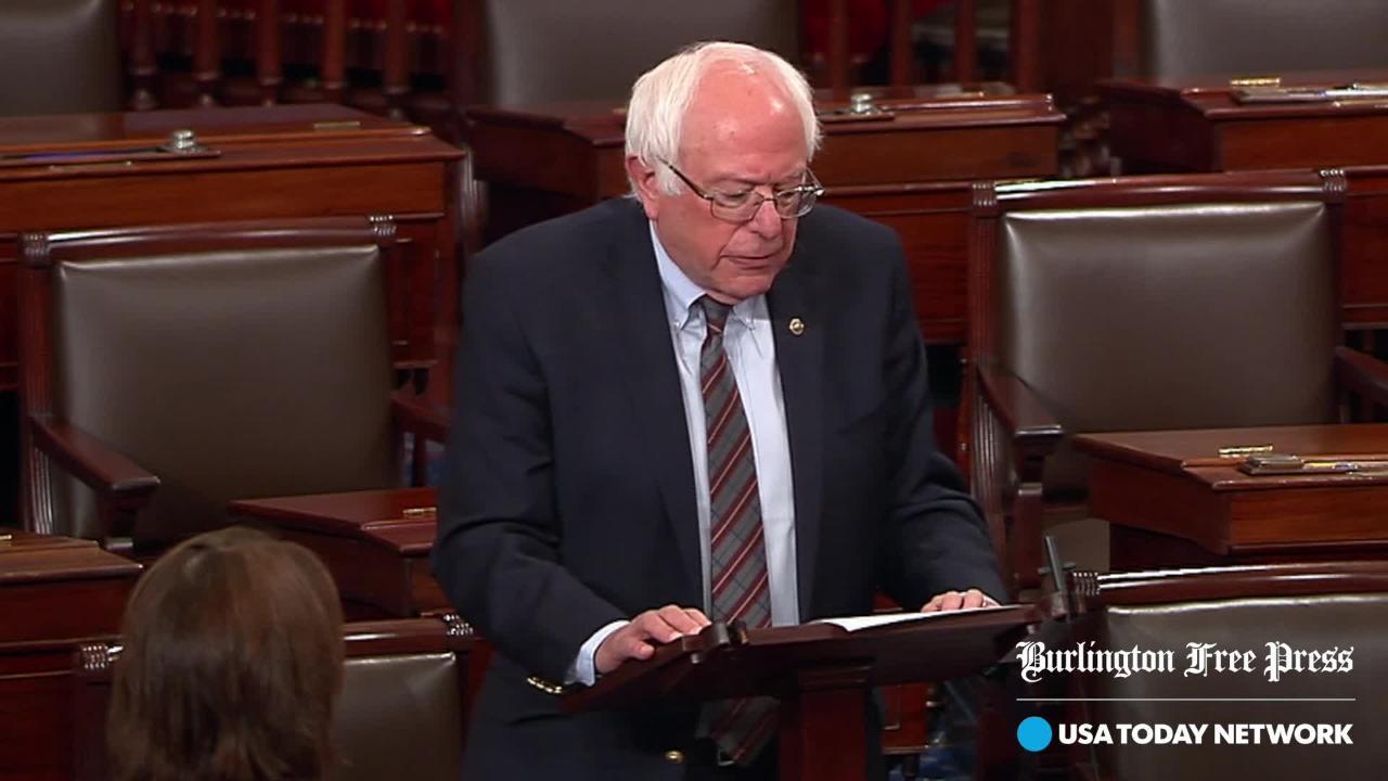 Sanders condemns shooter, former campaign volunteer