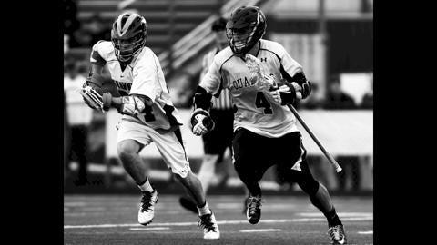 Varsity Boys Lacrosse: Moorestown vs Shawnee at Shawnee High School.