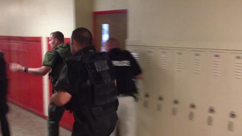 Police conduct active shooter training in Cherry Hill