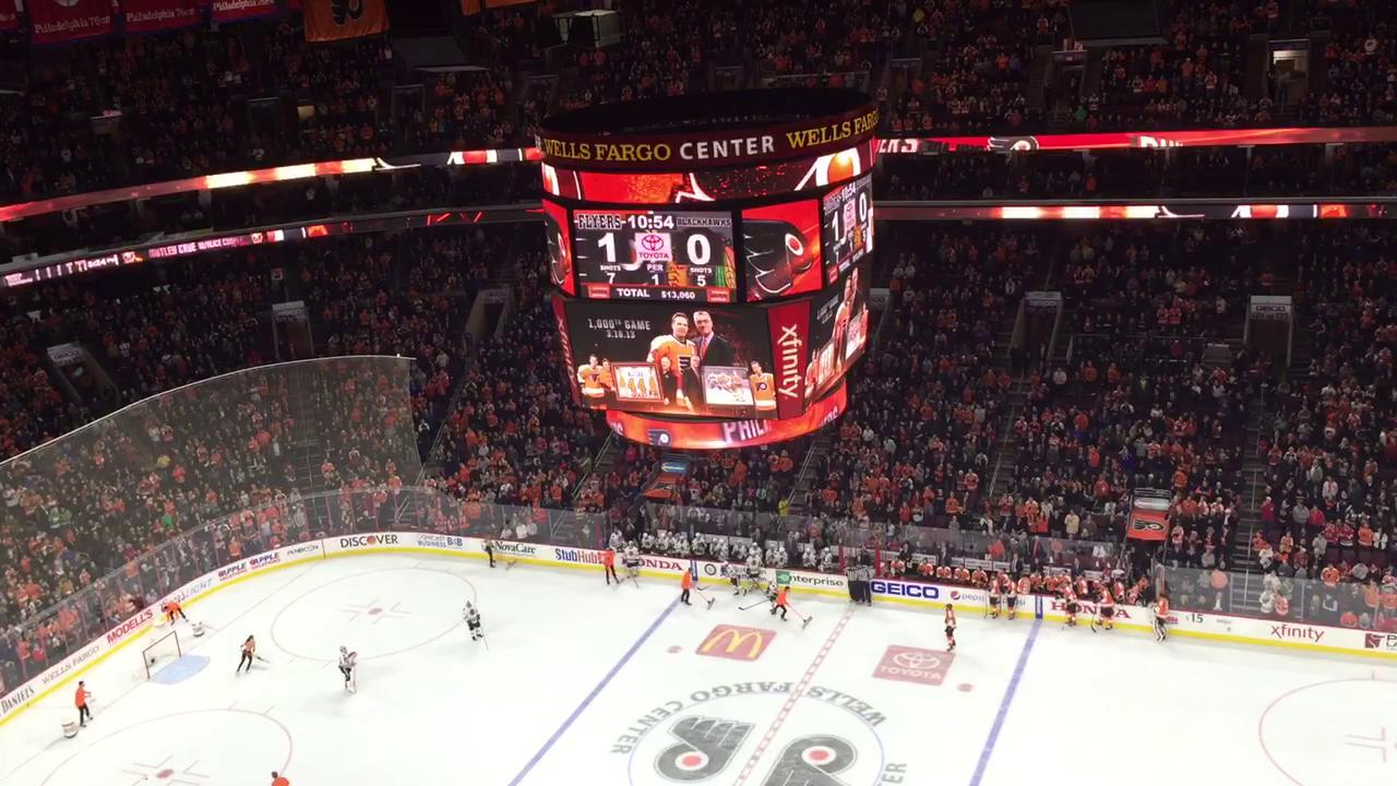 Flyers honor Kimmo Timonen with video tribute