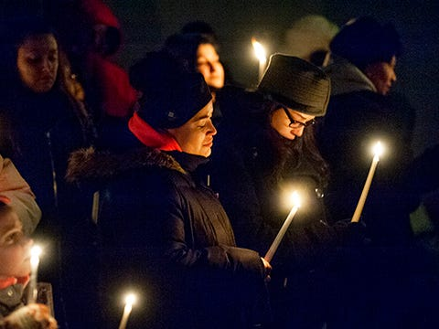 Slain Stratford mother remembered