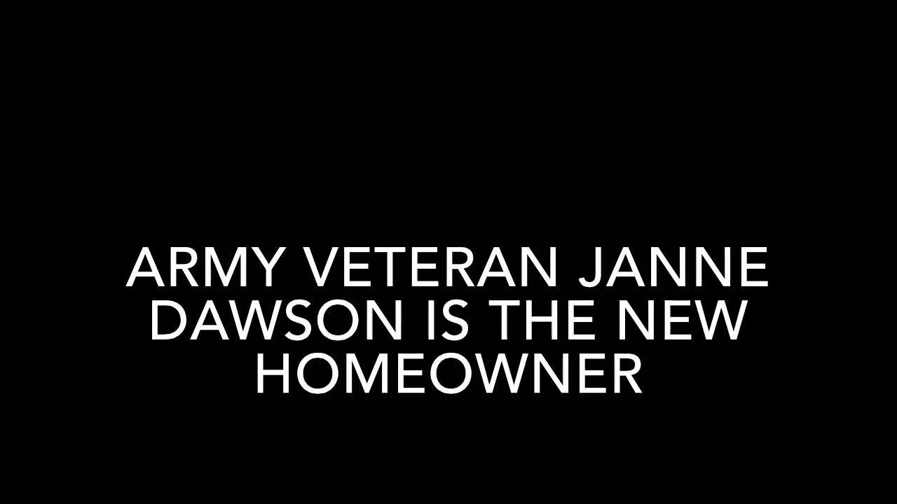 Army veteran gets dream home in Camden