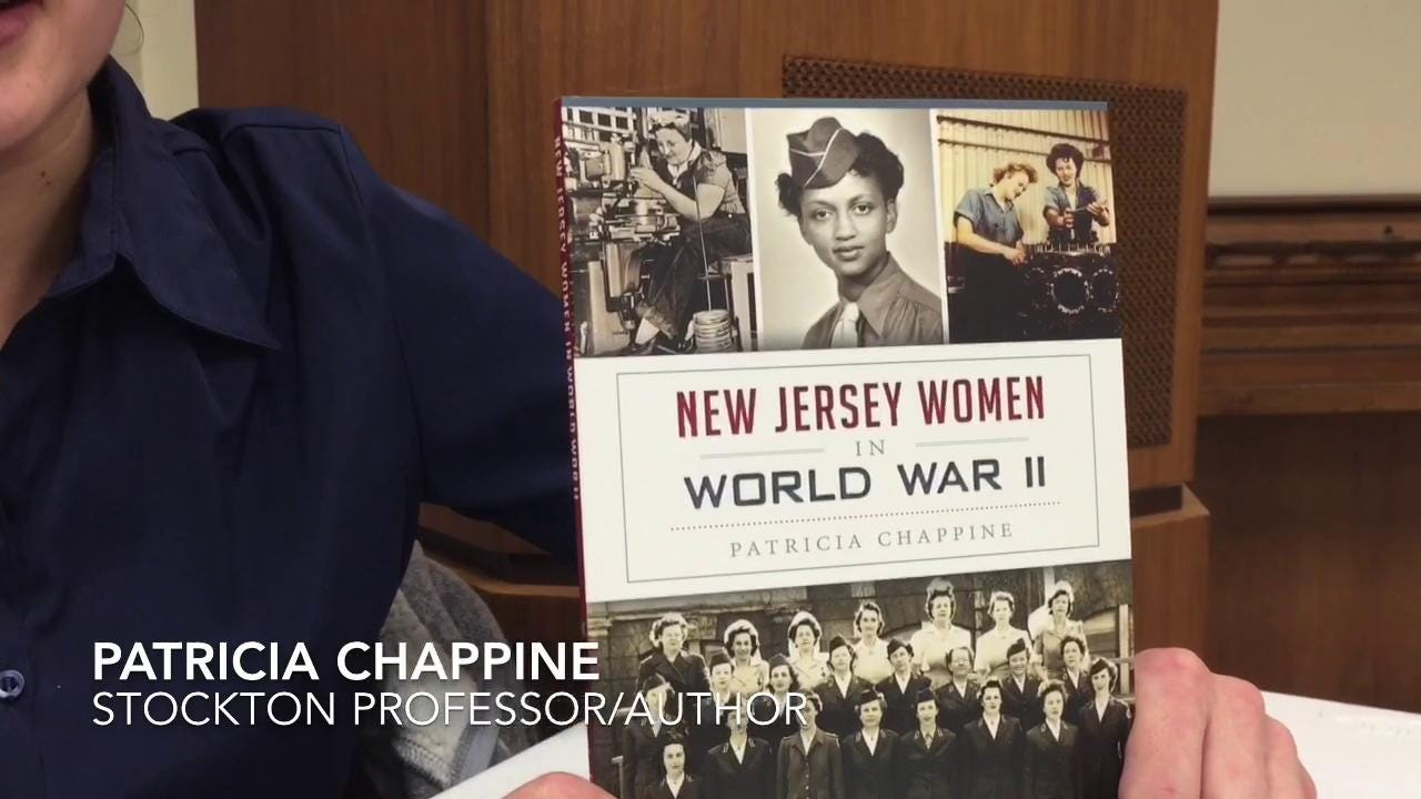 Author of NJ Women in WWII