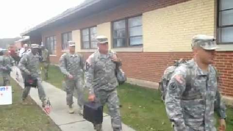 Welcome Home for the 328th Military Police Co. NJ National Guard