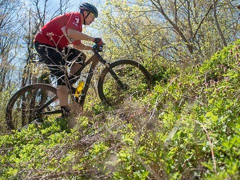 WATCH: Mountain biking in Cherry Hill